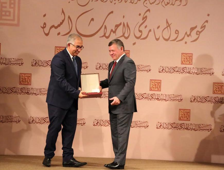 ملك الأردن يوشح مغربيين بأرفع الأوسمة تقديرا لمساهماتها في توضيح صورة الإسلام