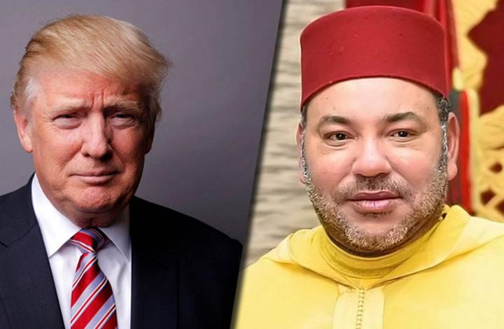 الملك يهنئ ترامب ويدعوه للعمل سويا من أجل المنطقة