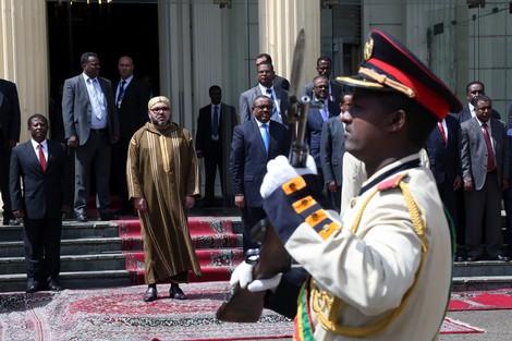 إثيوبيا تشيد بزيارة الملك وتدعم عودة المغرب إلى الاتحاد الإفريقي