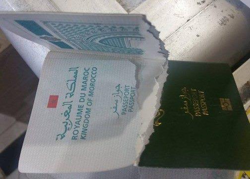 رجل أمن إسباني يمزق جواز سفر مغربي...والأخير يتوجه للقضاء +التفاصيل