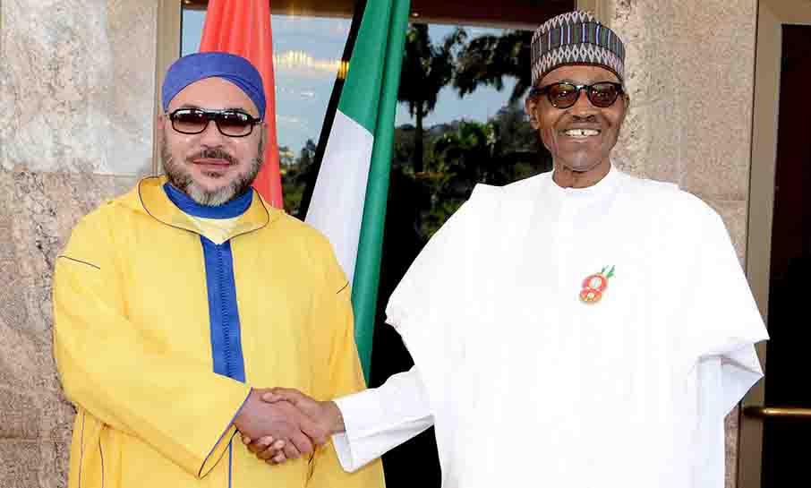 الرئيس النيجيري يبرز أهمية المشروع الضخم لنقل الغاز مع المغرب