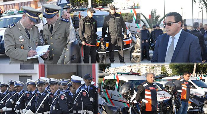 طنجة : تدابير و إجراءات أمنية لضمان الأمن و السلامة للمواطنين بمناسبة احتفالات رأس السنة الميلادية