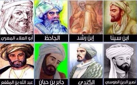 هؤلاء العلماء المسلمين الذين نفتخر بهم ....اتهموا بالزندقة و قتل أغلبهم على  أيدي مسلمين مثلهم