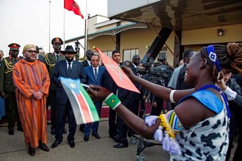 """الملك محمد السادس ينثر """"أياديه البيضاء"""" على سكان جوبا"""