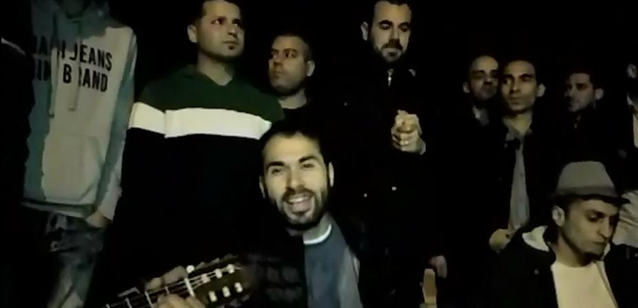 شاهد بالفيديوا:نشطاء الحسيمة يبدعون في أغنية نضالية
