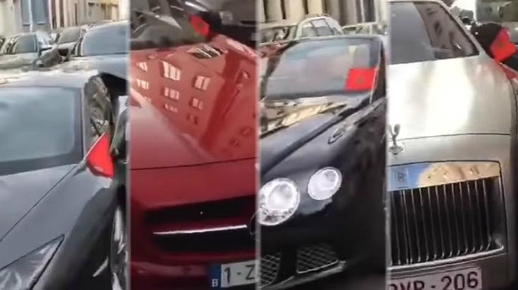 بالفيديو : مئات السيارات الفارهة و الأغلى عالميًا بأوروبا تحمل العلم المغربي