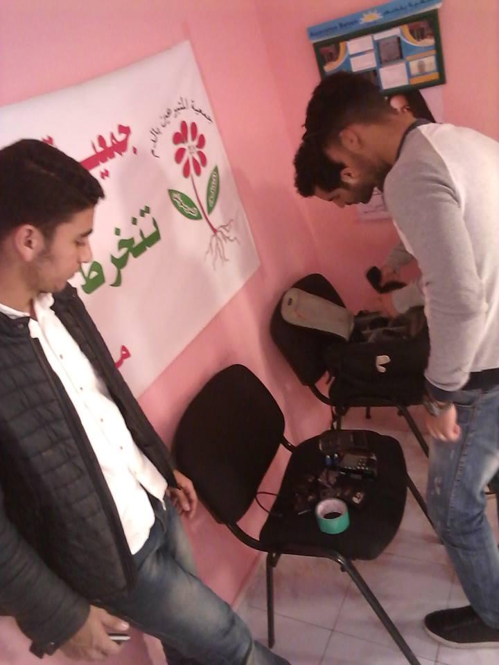 """شباب ناظوري ينتهي من تصوير فيلم قصير بعنوان """" السرطان """""""