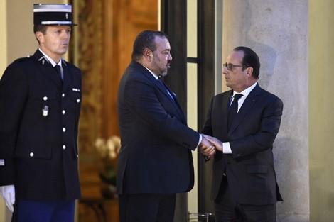 """الملك وهولاند: شراكة المغرب وفرنسا تتجاوز """"الأجندات السياسية"""""""