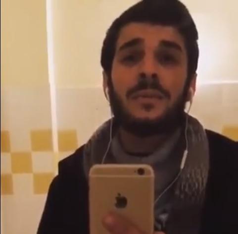 """شاهد بالفيديوا:شاب من العروي يأدي أنشودة """"يما ويرتروشا"""" لإسماعيل بلعوش بطريقة وصوت جد رائع"""