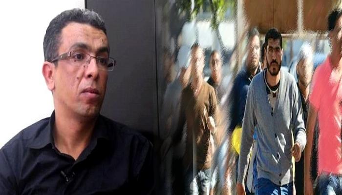 الناشط في حراك الناظور عبدالرزاق امحمدي يحكي تفاصيل مثيرة إثر إلتقائه بالمهداوي داخل المحكمة الإبتدائية بالحسيمة