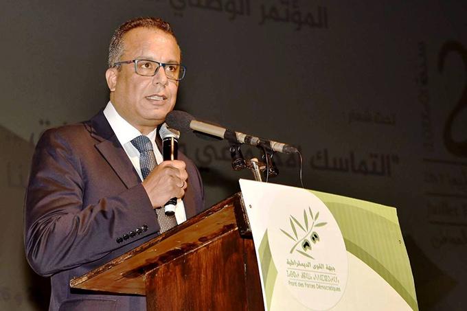 انتخاب المصطفى بنعلي، بالإجماع أمينا عاما لجبهة القوى الديمقراطية.