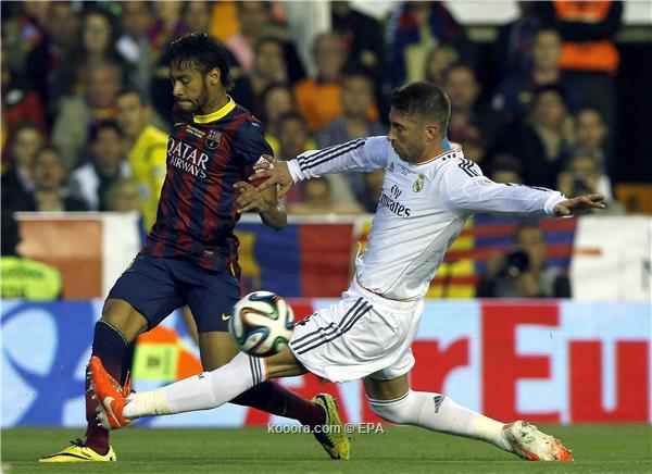 راموس: أتمنى رحيل نيمار عن برشلونة