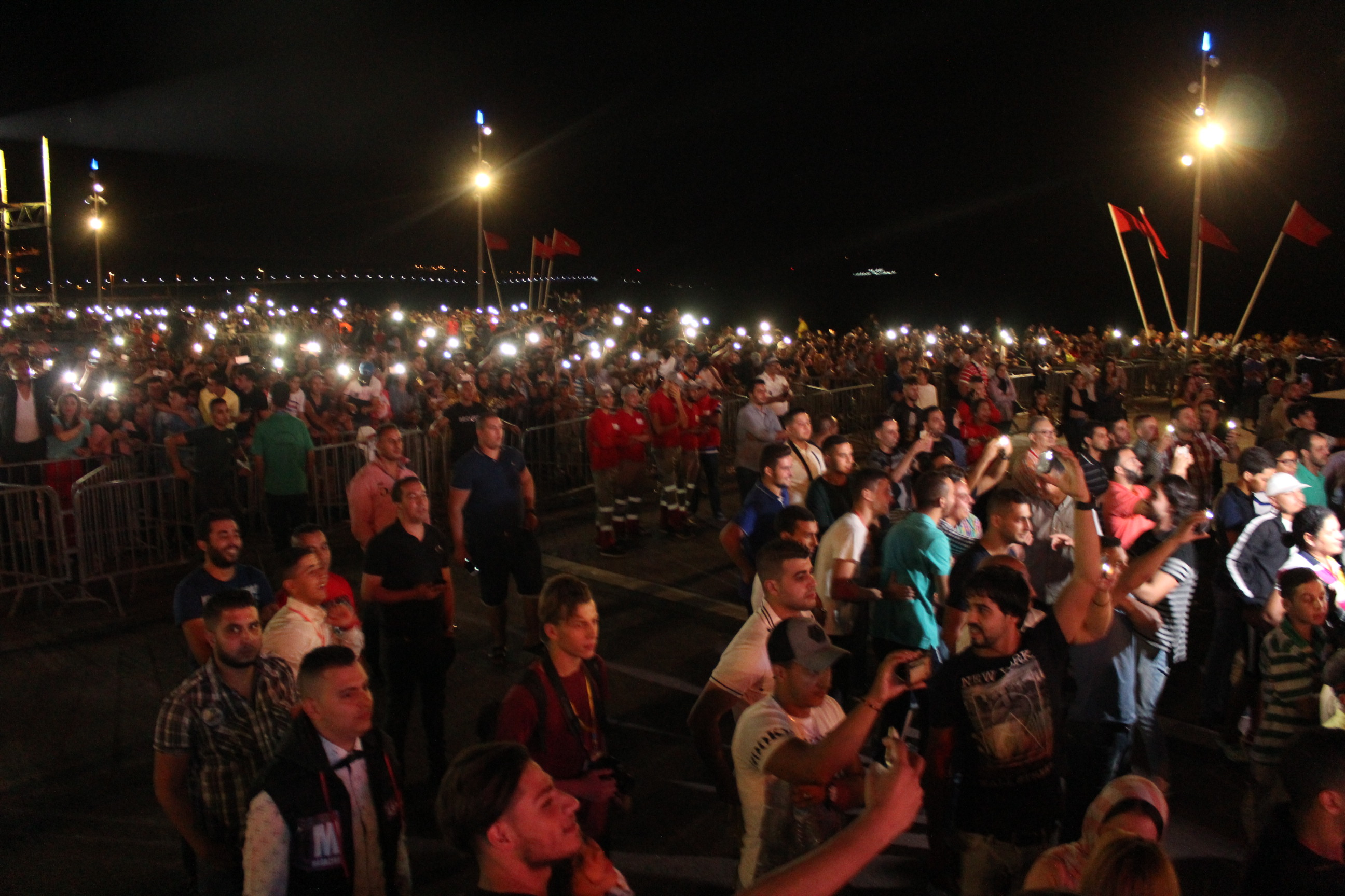 اعتقال 4 من نشطاء حراك الناظور اثر احتجاجهم بسهرة افتتاح المهرجان المتوسطي