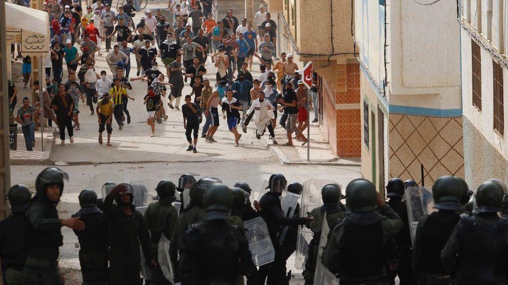 """المندوبية الوزارية المكلفة بحقوق الإنسان ترد على """"رايتس ووتش"""" بخصوص أحداث الحسيمة"""