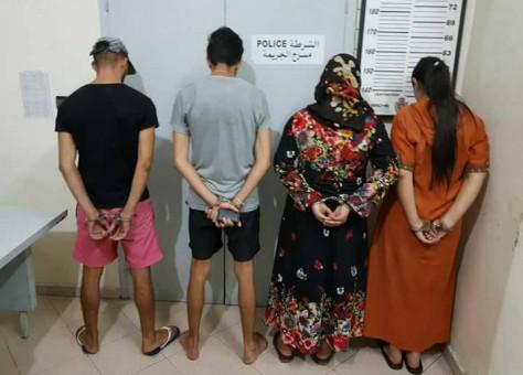 """خطيــر بالصور:اعتقال عصابة بحوزتها 1000 قرص """"أكستازي"""" ضمنهم فتيات"""