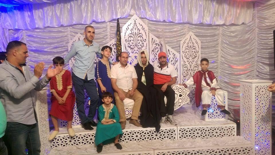 """أسرة """"ناظور24"""" تهنئ السيد محمد الشامي بمناسبة دخوله القفص الذهبي"""