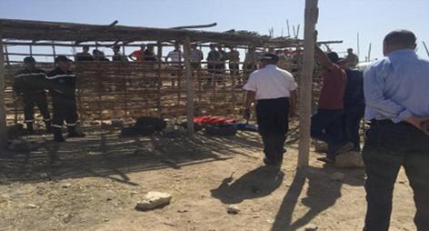 اليوم السبت بالسوق الأسبوعي..انتحار شاب عشريني شنقا بواسطة حبل مربوط حول عنقه