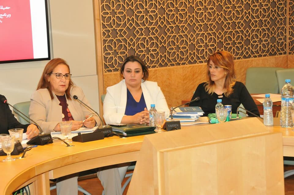 بالصور:أحكيم تطالب بدعم المؤسسات الإجتماعية بالناظور في لقاء مع الوزيرة الحقاوي