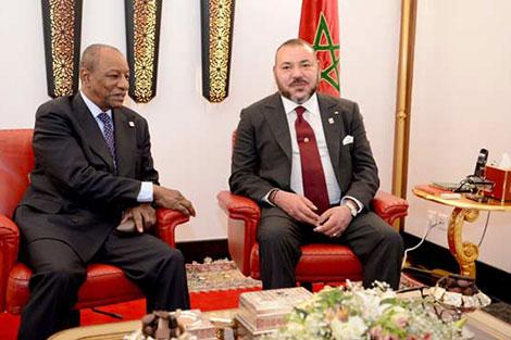 """رئيس الاتحاد الإفريقي: """"نحن فخورون بريادية جلالة الملك"""" في مجال تدبير الهجرة"""