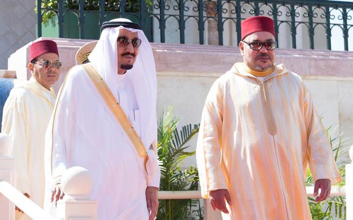 جلالة الملك يبعث ببرقية تهنئة لخادم الحرمين الشريفين بمناسبة الذكرى الثالثة لاعتلائه عرش المملكة العربية السعودية