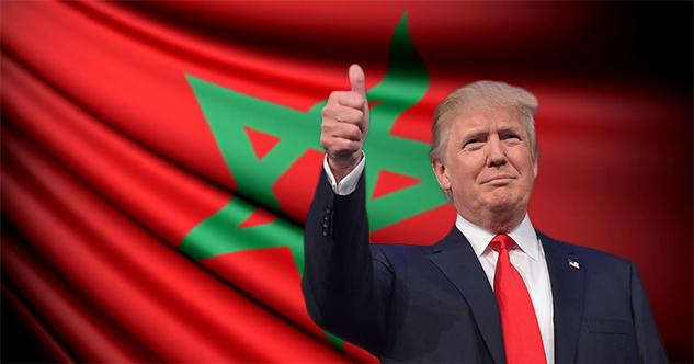 ترامب يدعم المغرب عسكريا