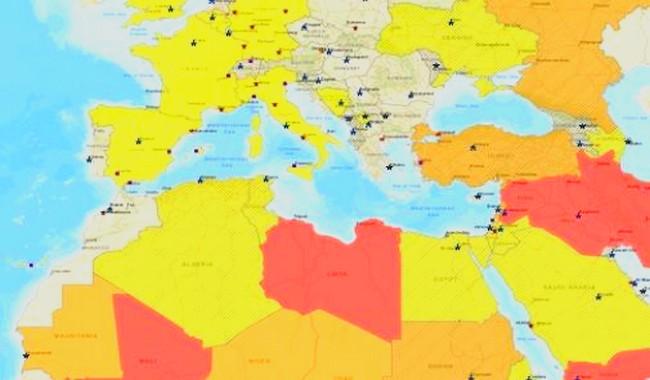 وزارة الخارجية الأمريكية.. المغرب يتفوق على الجزائر وفرنسا في مؤشر الأمان(+خريطة)