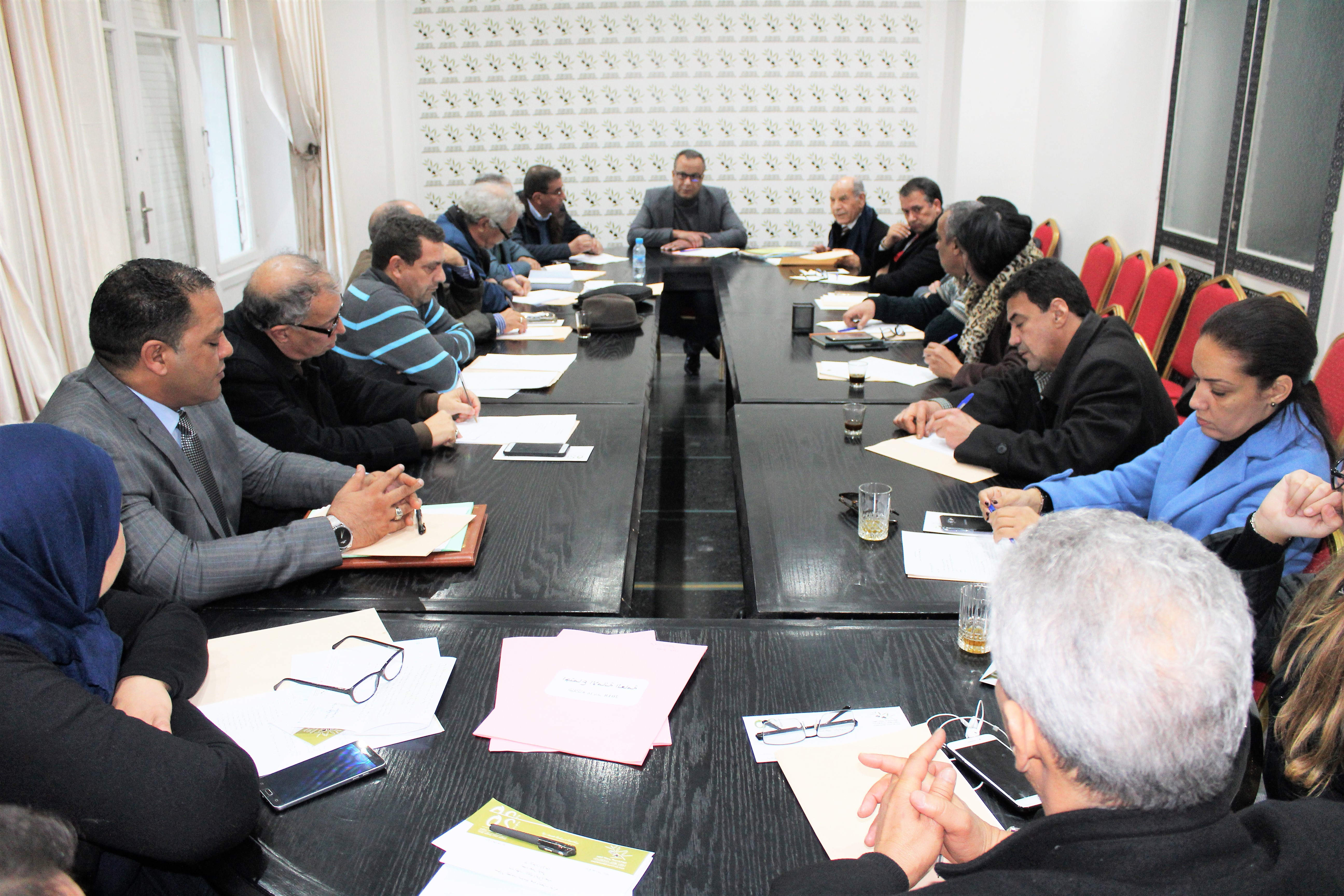 جبهة القوى الديمقراطية، تلامس مطالب ساكنة جرادة، عبر زيارة استطلاعية ميدانية.