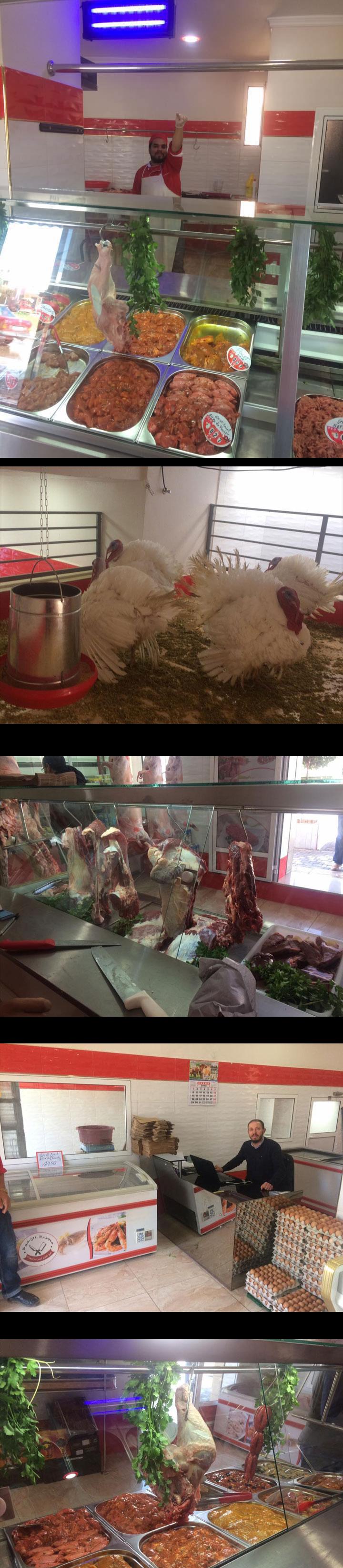 """ببني أنصار مجزرة """" الإخوة"""" متخصصة في بيع شتى أنواع اللحوم الحمراء والبيضاء ومشتقاتهما"""