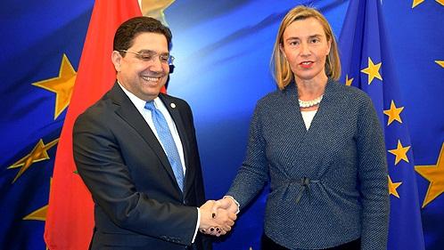 بوريطة و موغيريني يؤكدان على الطابع الاستراتيجي للشراكة المغربية الأوروبية