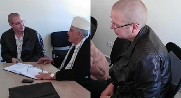 أجنبي هولندي يعتنق الإسلام صباح اليوم بالناظور