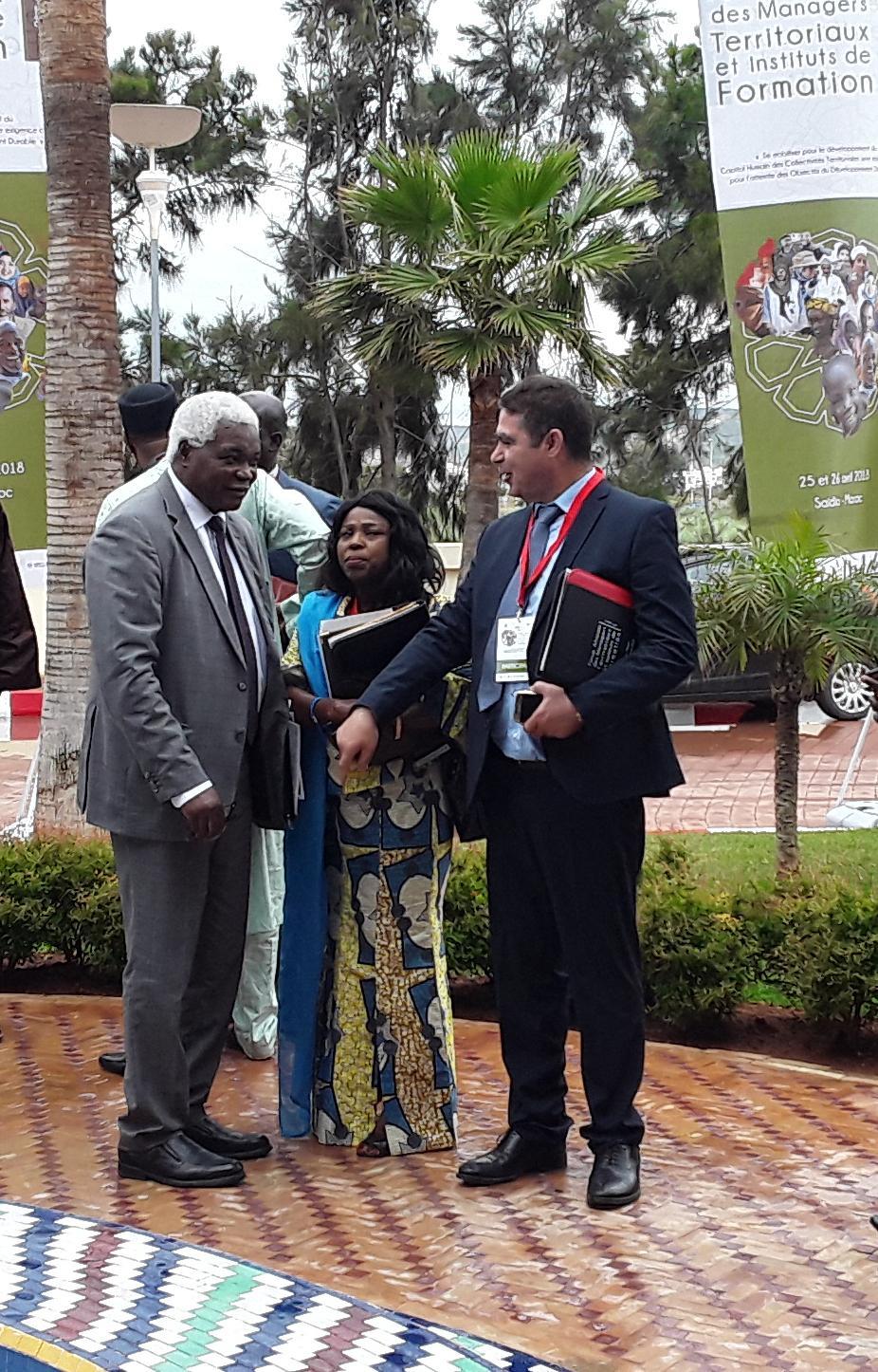 رئيس إقليم الدريوش منعم الفتاحي يشارك في المنتدى الإفريقي الثاني المنظم بالسعيدية