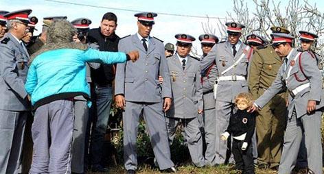 اقليم الدريوش : اعتقال مسن في ثمسمان متلبسا بهتك عرض طفل عمره 12 سنة