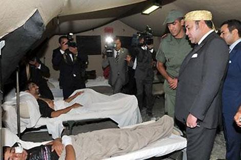 جلالة الملك يعطي تعليماته السامية من أجل إقامة مستشفى ميداني بغزة