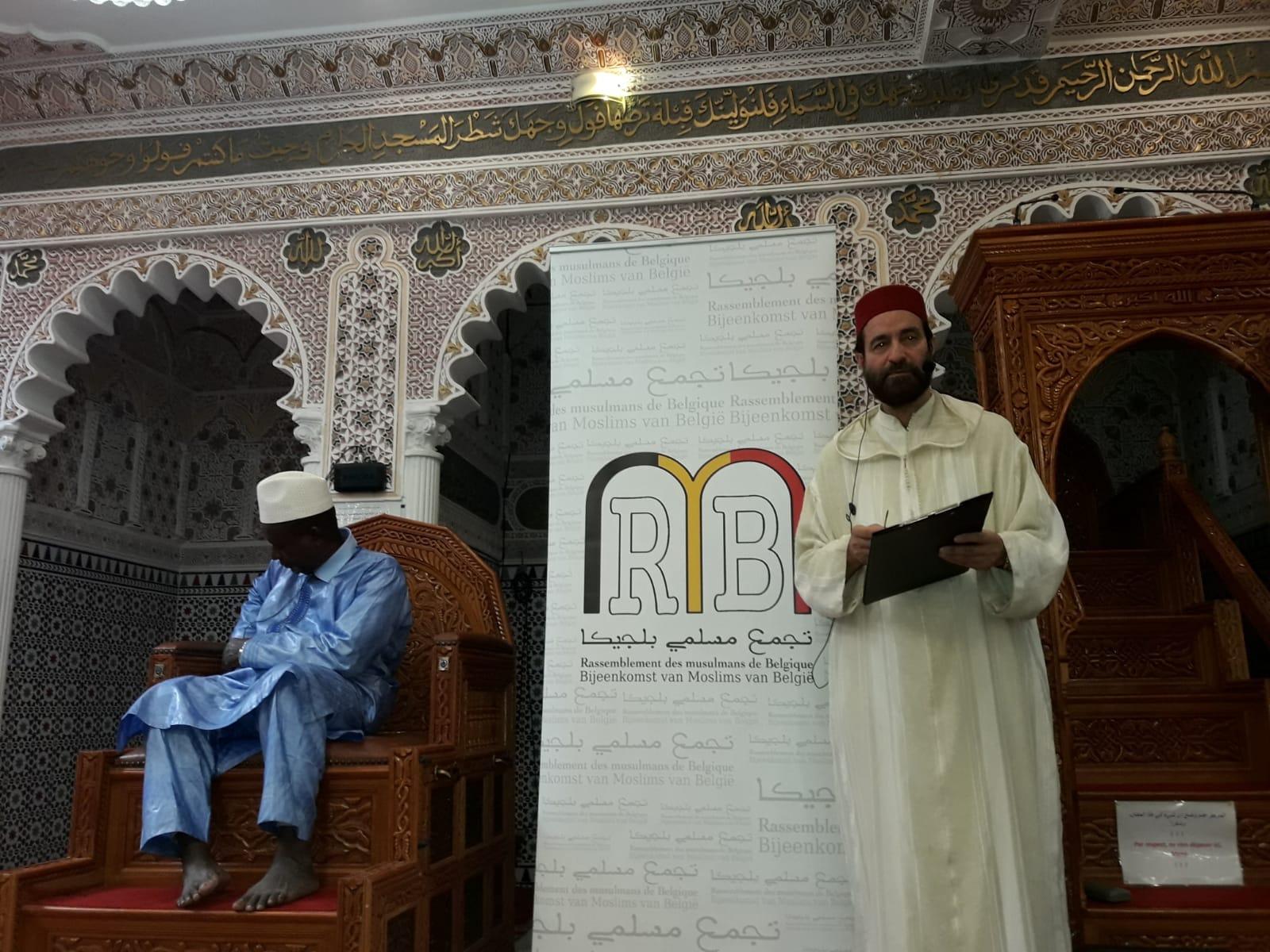 مسجد المتقين ببروكسيل يستضيف عباد الرحمان على مائدة الإفطار و يحقق مقاصد كبرى.