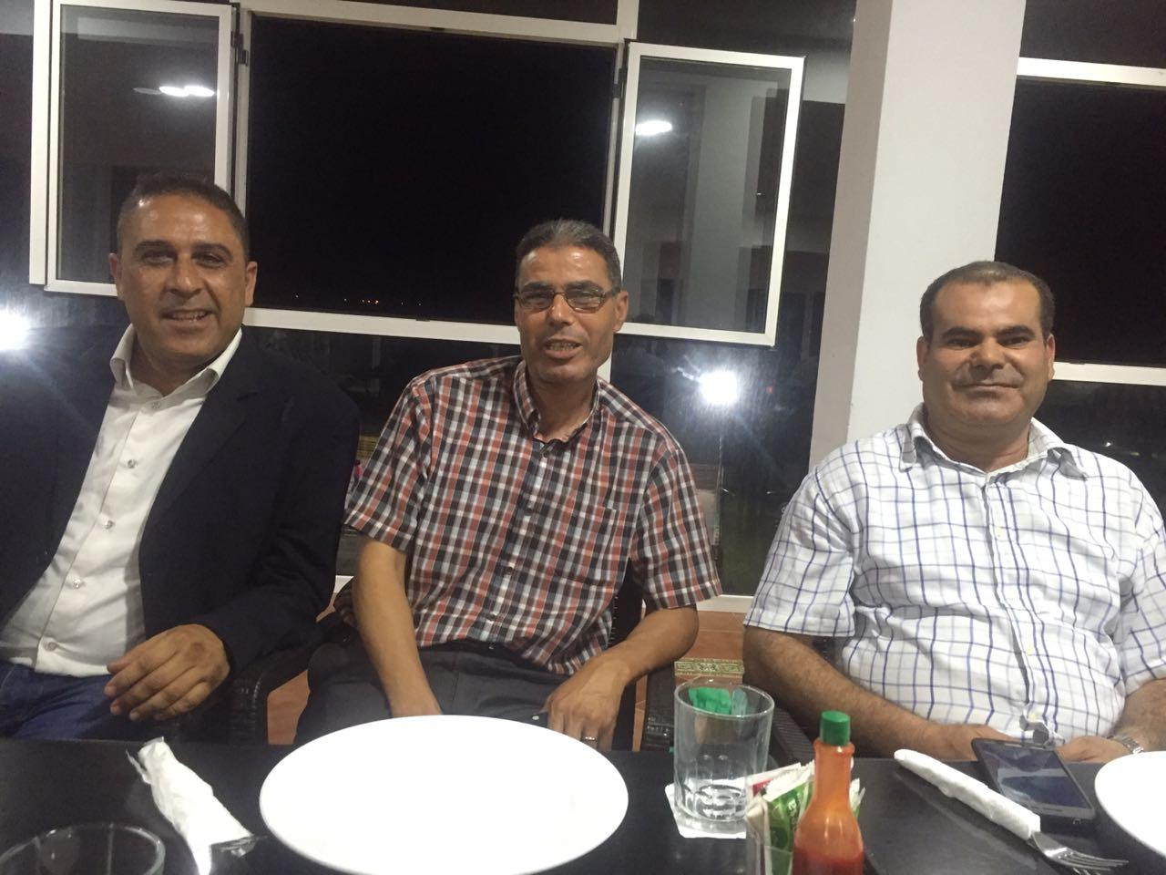 أسرة التوجيه التربوي بالناظور تكرم المفتش محمد الدواي