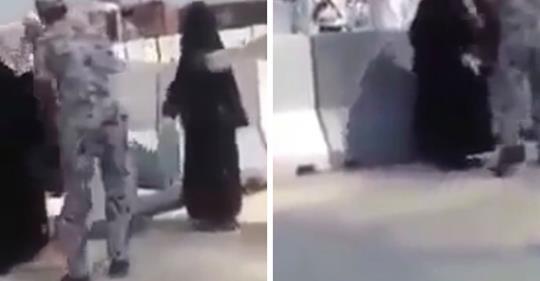 فيديو/شوفوا الوحشية ديال بوليس السعودية تجاه الحجاج..التصرفيق