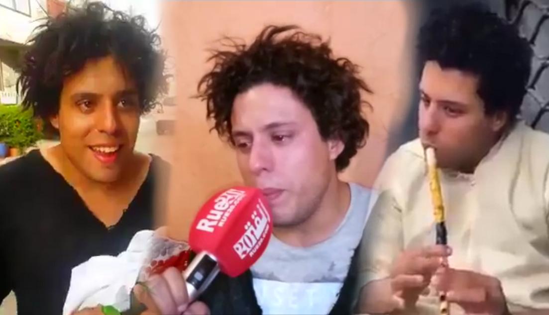 فيديو مؤثر / التفاصيل الكاملة لقصة الشاب المختل عقلياً الذي أبكى المغاربة !