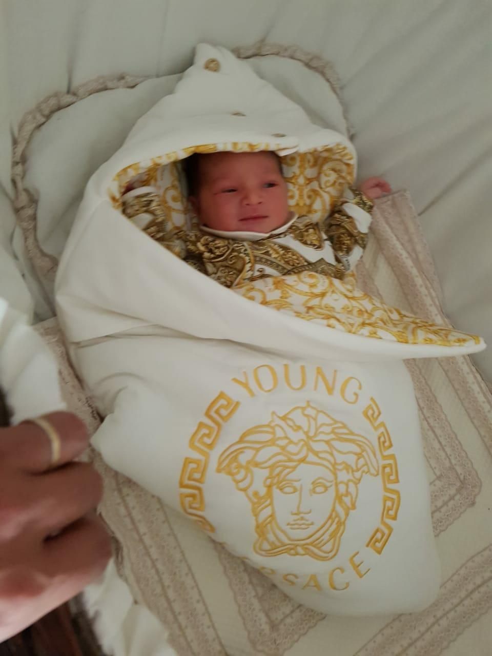 تهنئة بمناسبة ازدياد مولود لعائلة بغداد ازعوم ببن الطيب