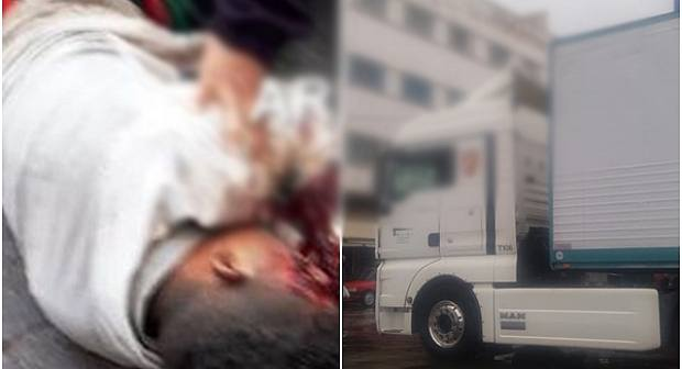 صادم: شاحنة اسبانية تدهس قاصر وسط مدينة الناظور