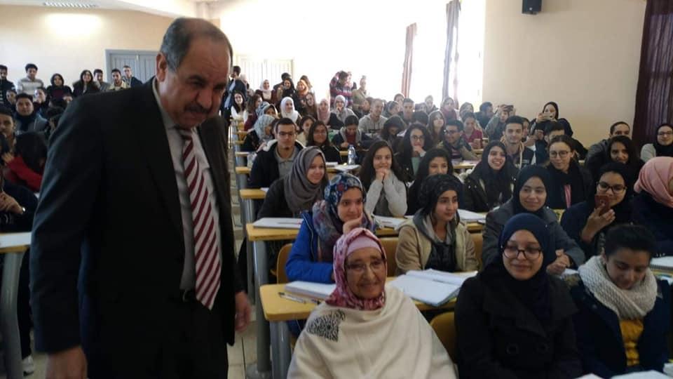رئيس جامعة محمد الاول يفي بوعده: مدرج يحمل اسم المحسنة فاطنة المدرسي بالمدرسة الوطنية للتجارة و التسيير بوجدة
