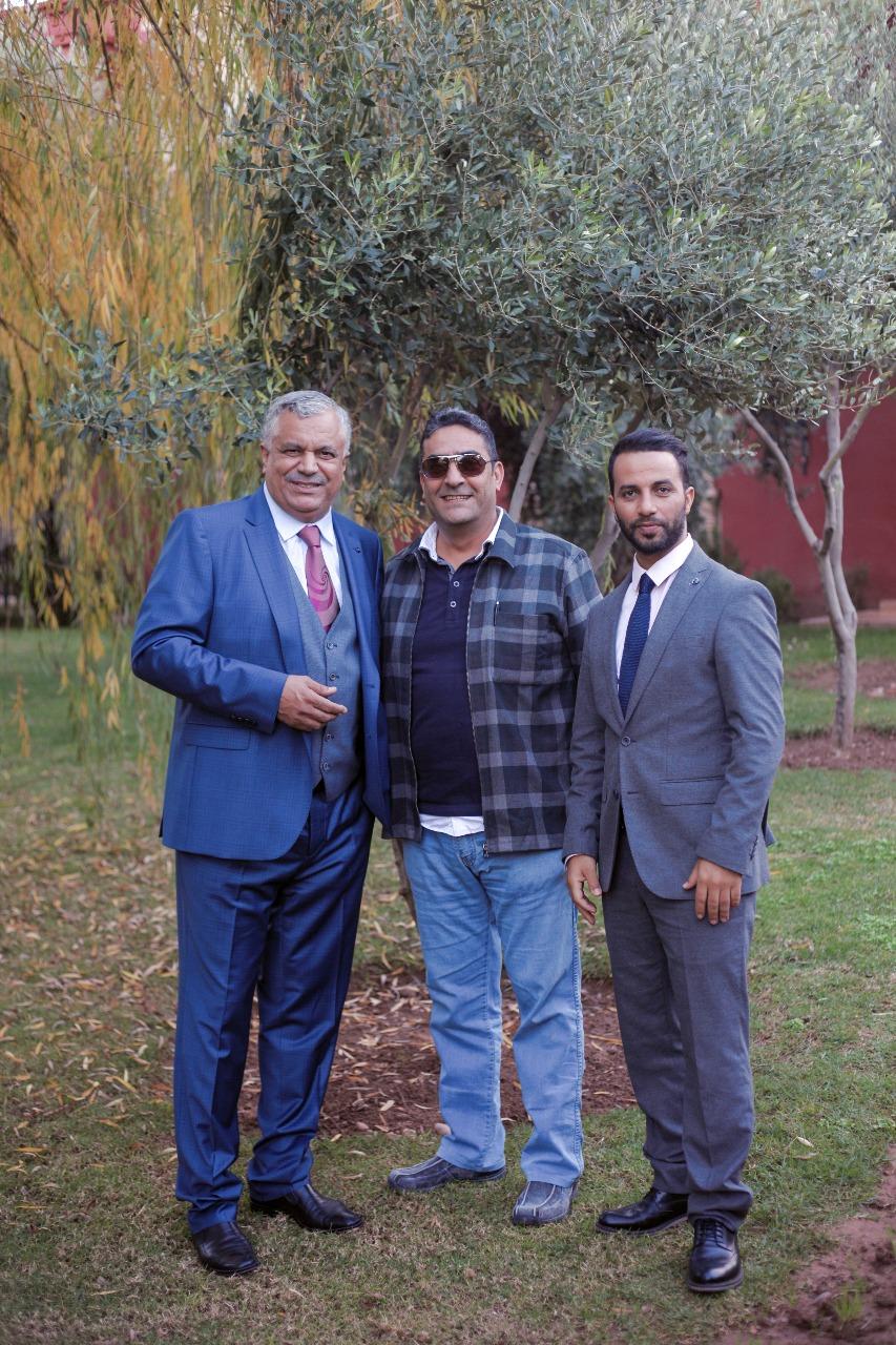 مراكش : المنتج الناظوري حسين المالكي ينتهي من تصوير الفيلم التلفزي 'قلبي بغاه '