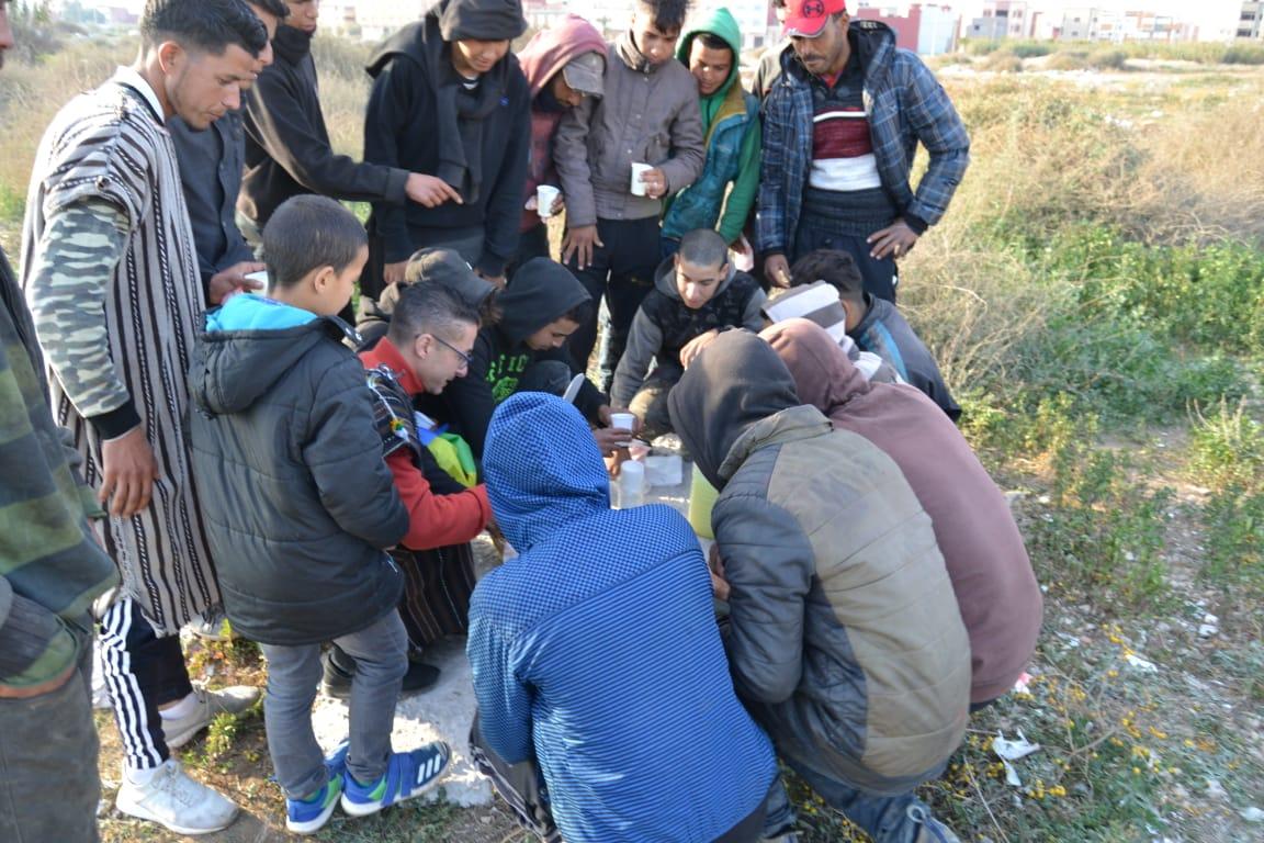 """مثير .. الناشط الأمازيغي رشيد زناي يشارك احتفاله بالسنة الأمازيغية مع """"الحراكة"""""""