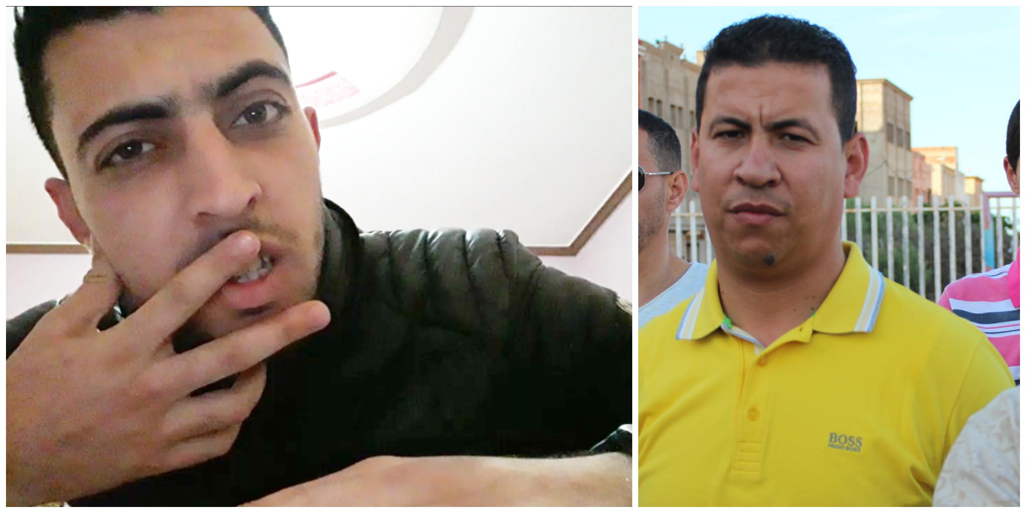 كريم الركراكي يتهم الزميل يوسف عرباج بانه مسخر من طرف خصومه والاخير يرد بفيديو هزلي !!