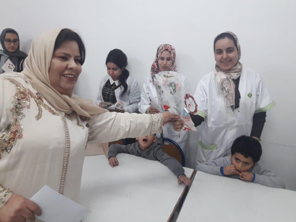 صور+جمعية ايمن للتوحد تحتفي بمؤطراتها ومربياتها في اليوم العالمي للمرأة