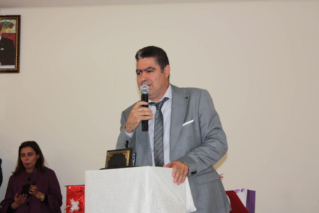 """رئيس مجلس إقليم الدريوش يشارك """"أصدقاء الصحة"""" حفل تكريم المندوبة الإقليمية السابقة للصحة"""