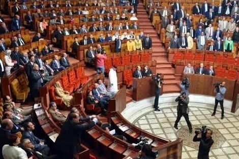 البرلمان يتحول إلى حلبة للملاكمة