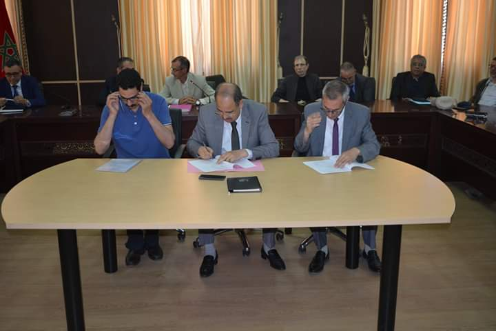 في اطار برنامج PARA1-2019 مدينة وجدة تشهد توقيع اتفاقيات لتمويل المشاريع المختارة