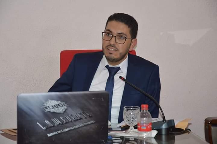 """"""" المحددات التاريخية و الجيوسياسية للأمن القومي للمغرب """" عنوان رسالة الدكتوراه لابن تمسمان ' منعيم أمشاوي'"""