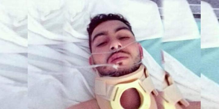 شاب من إقليم الحسيمة مصاب بشلل على مستوى الرجلين واليدين يناشد مساعدته لتوفير مصاريف العلاج