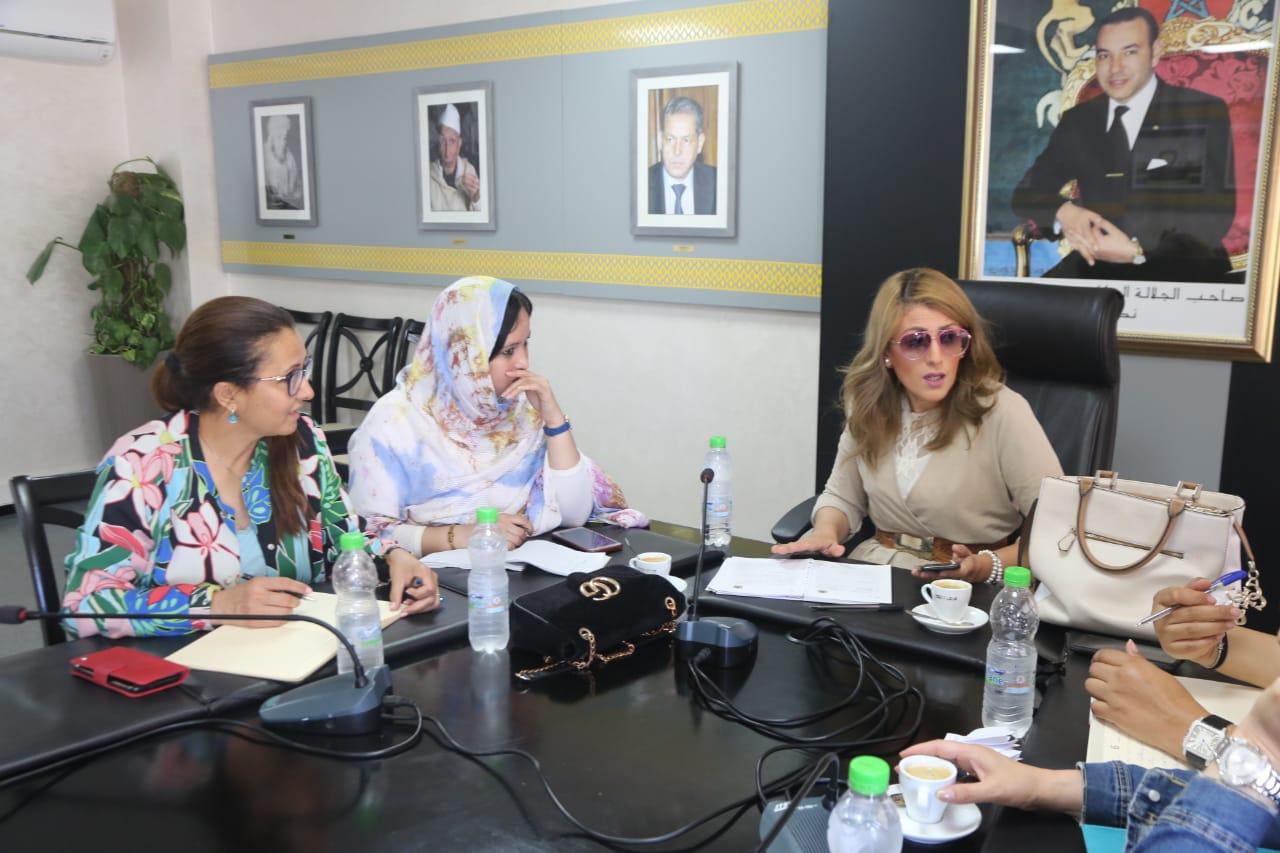 ليلى أحكيم: الإجراءات اللوجستيكية و التنظيمية للمؤتمر الوطني للنساء الحركيات تسير بشكل جيد
